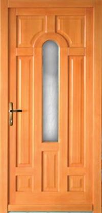 Fa kültéri bejárati ajtók